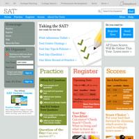 SAT公式ウェブサイト